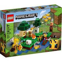 Конструктор LEGO Minecraft Пчелиная ферма 238 деталей