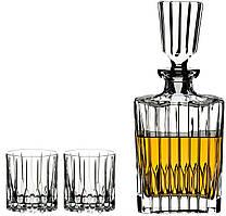 Набор для виски Riedel Neats Spirits графин + 2 стакана 5460/52