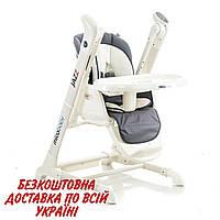Детский стульчик-качеля Mioobaby Jazz HC818 grey