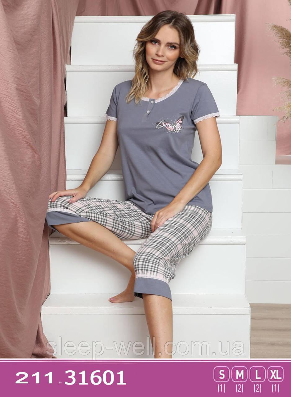 Пижама с бр джамии футболкой,Sexen
