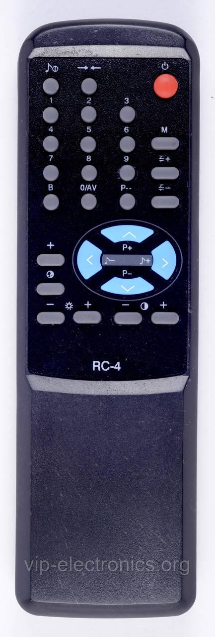 Пульт Електрон  RC-4 (TV) корпус Funai 7,8
