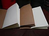 Именной кожаный блокнот,  гравировка и подарочная коробка в подарок!, фото 4