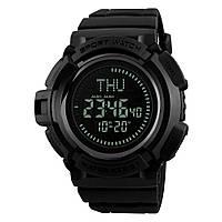 Skmei 1300 Черные мужские спортивные часы, фото 1