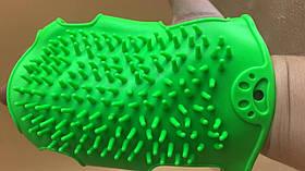 Силіконова рукавиця 11*16,5 см САЛАТОВА