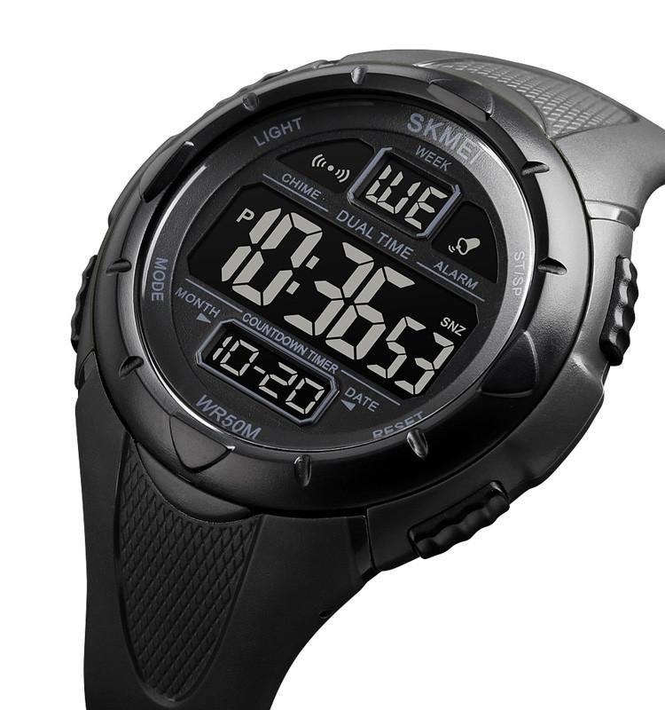 Мужские спортивные часы Skmei 1656 black