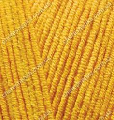Нитки Alize Cotton Gold 14 темно-желтый