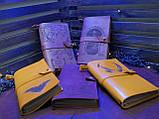 Кожаный блокнот,  гравировка и подарочная коробка в подарок!, фото 2