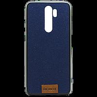 Силикон REMAX TISSUE Samsung A30s темно-синий