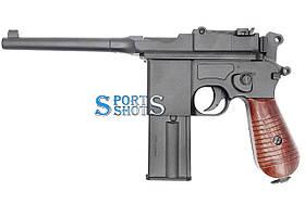 Пневматичний пістолет Umarex Mauser Legends C96 FM blowback