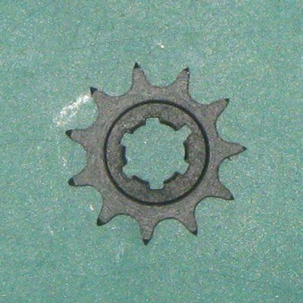 Звезда трансмиссии передняя мотороллер Муравей 428-11T, фото 2