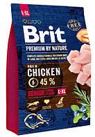 Brit  Premium Senior L+XL  3кг  для пожилых собак крупных пород