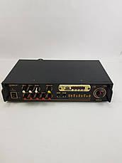 Підсилювач Звуку Max AV-102BT Bluetooth USB, фото 3