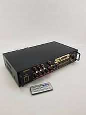 Підсилювач Звуку Max AV-102BT Bluetooth USB, фото 2