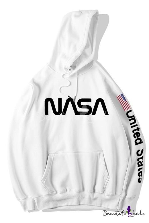 Худі NASA MEATBALL LOGO чорне унісекс (чоловіче, жіноче, дитяче)