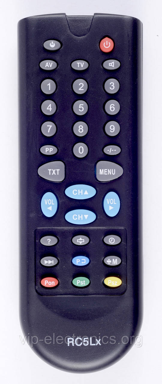 Пульт Електрон  RC-5 (TV) лодочка