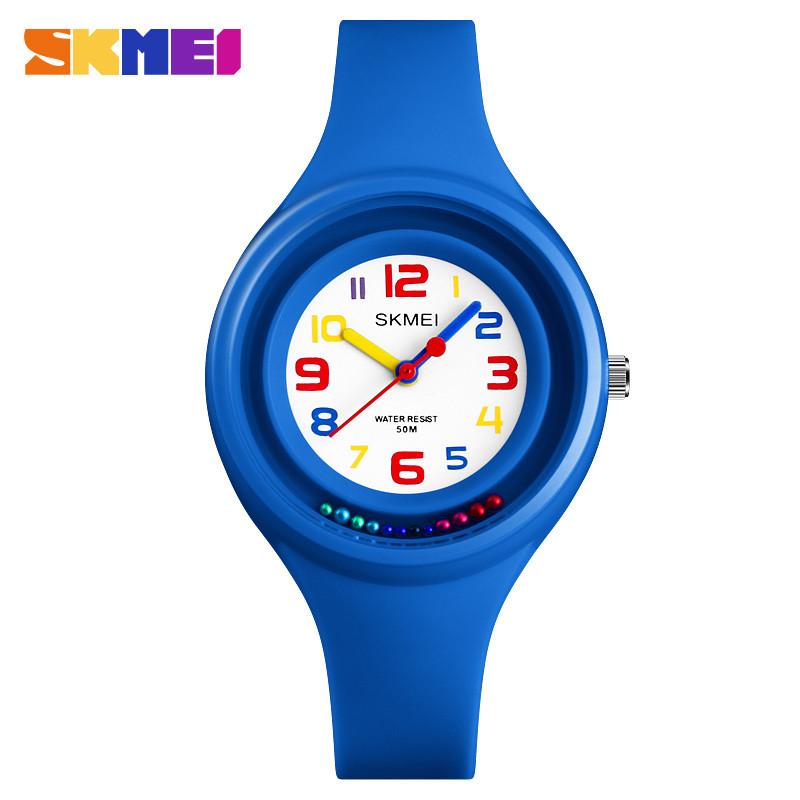 Skmei 1386 синие детские часы
