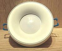 Світильник точковий вбудований Feron DL1842 GU5.3 MR16 Білий Матовий, фото 1