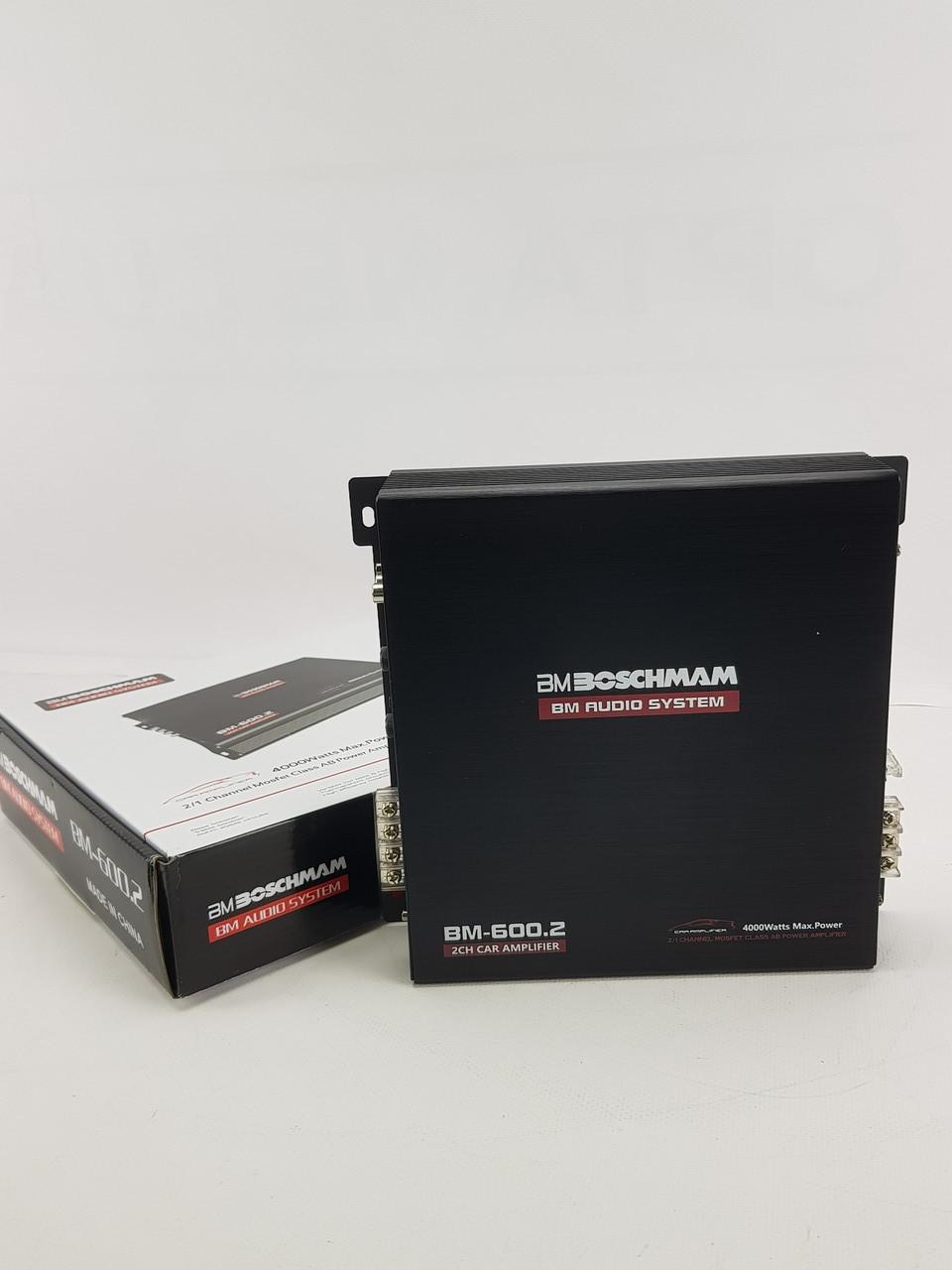 Підсилювач 2 канальний Boschman BM Audio BM-600.2