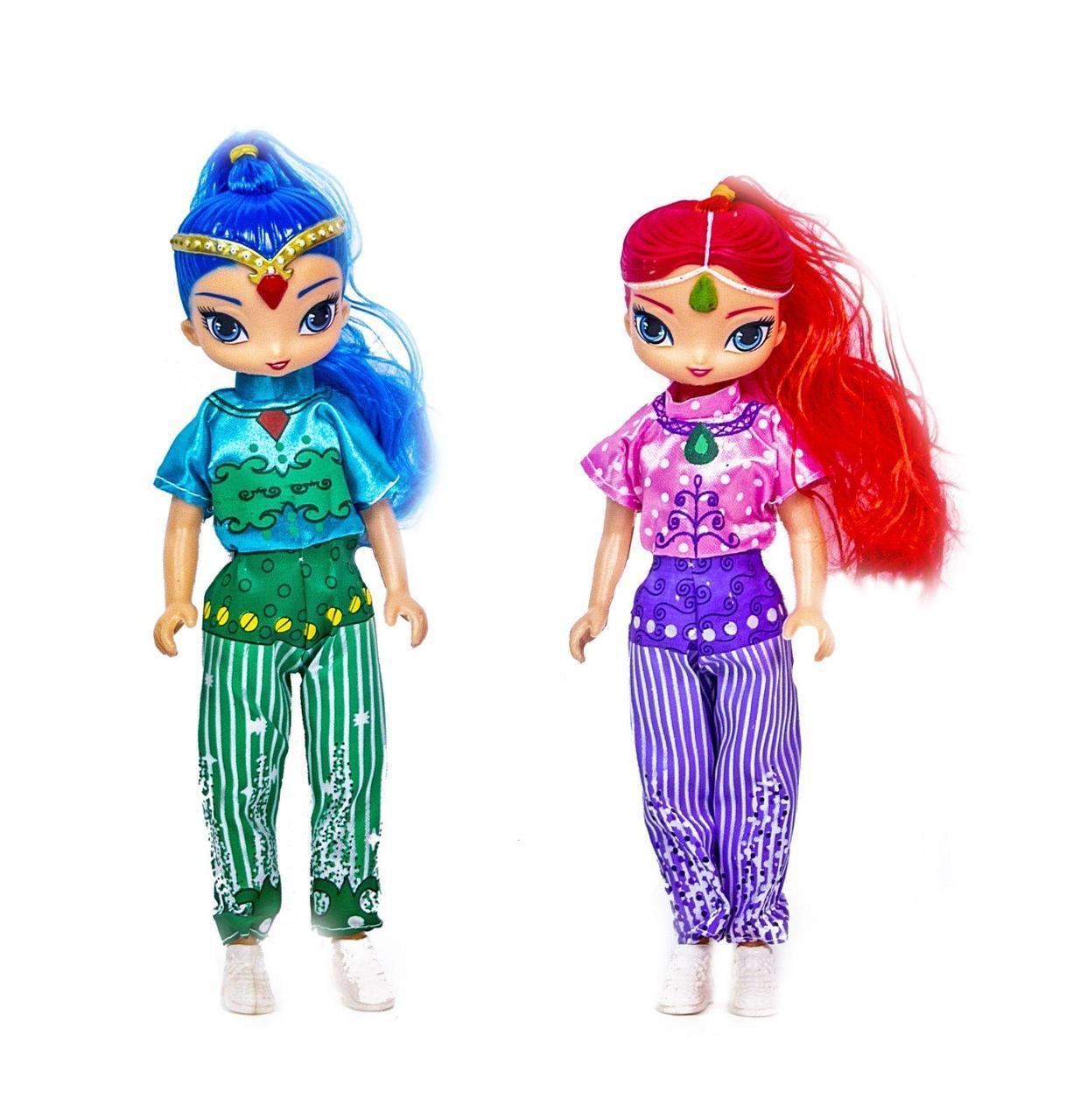 Лялька набір типу Барбі Шиммер і Шайн 2 шт в коробці 2210A