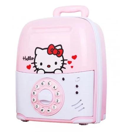 Сейф - іграшка з кодом (Hello Kitty)