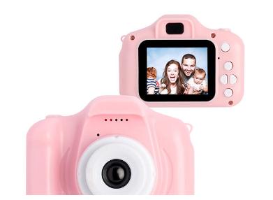 Детский фотоаппарат цифровой Summer Vacation (Розовый)