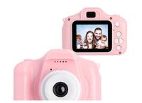 Детский фотоаппарат цифровой Summer Vacation (Розовый), фото 1