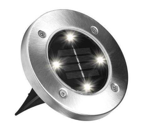 Світильник на сонячній батареї Disk lights
