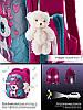 Рюкзак школьный ортопедический для девочки каркасный в 1-3 класс Пони Единорог Winner One 6012, фото 2