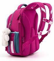 Рюкзак школьный ортопедический для девочки каркасный в 1-3 класс Пони Единорог Winner One 6012, фото 3