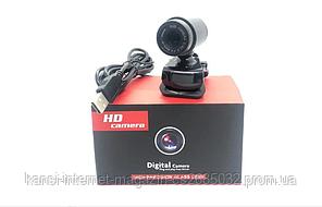 Веб-камера без микрофона DC 890, мини камера с креплением