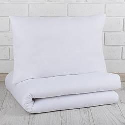 Набор одеяло и подушка в детскую кроватку бязь