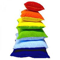 М'яка дитяча іграшка «Піраміда Веселка» 6 барвистих подушечок