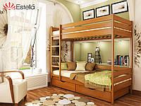 Двоярусне ліжко Дует 90х190 105 Щит 2Л25