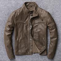 Демисезонные кожаные  куртки.