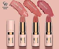 Нюдовая матовая помада для губ Golden Rose Nude Look Perfect Matte Lipstick