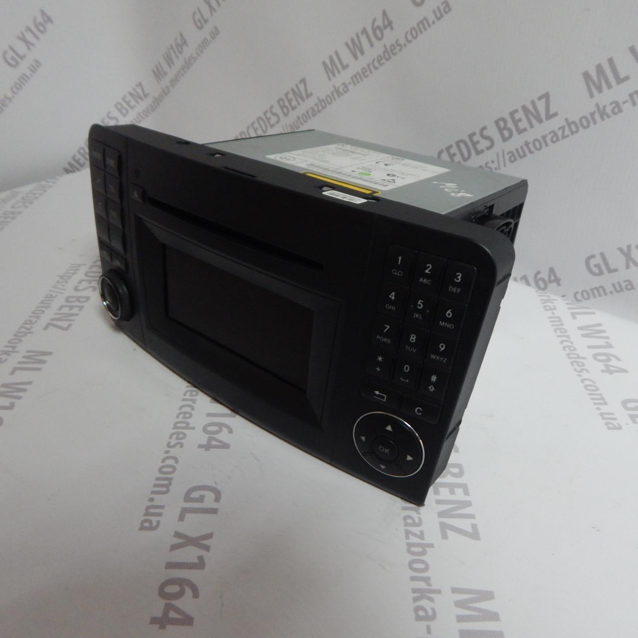 Панель управління Comand магнітола A1648705594 Mercedes ML GL W164 X164
