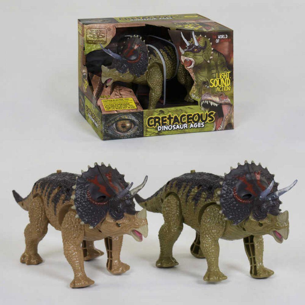 Динозавр WS 5315 (48) ходит, световые и звуковые эффекты