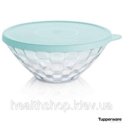 Чаша «Бриллиант» 500 мл бирюзовая крышка Tupperware