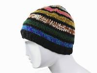 Женская вязаная шапка 2015