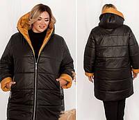 Тепла куртка жіноча, фото 1