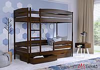 Двоярусне ліжко Дует Плюс 80х190 101 Масив h 181 2Л25