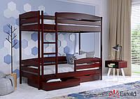 Двоярусне ліжко Дует Плюс 80х190 104 Масив h 181 2Л25