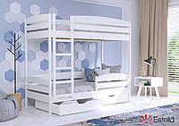 Двоярусне ліжко Дует Плюс 80х190 107 Масив h 181 2Л25