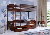 Двоярусне ліжко Дует Плюс 80х190 108 Масив h 181 2Л25