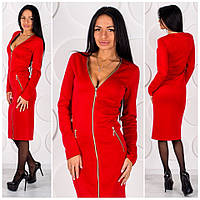 Нарядное платье Ирис, ткань дайвинг
