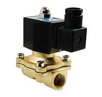 Клапан электромагнитный AquaWorld NC 2W160-15-S 220В нормально закрытый