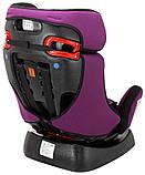 Автокресло Bair Sigma 0+/1/2 (0-25 кг) DS1824 черный - фиолетовый, фото 8