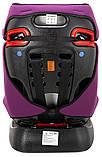 Автокресло Bair Sigma 0+/1/2 (0-25 кг) DS1824 черный - фиолетовый, фото 9