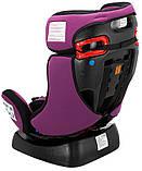 Автокресло Bair Sigma 0+/1/2 (0-25 кг) DS1824 черный - фиолетовый, фото 10