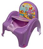 Горшок-стульчик Tega Safari SF-010 128 dark violet, фото 2